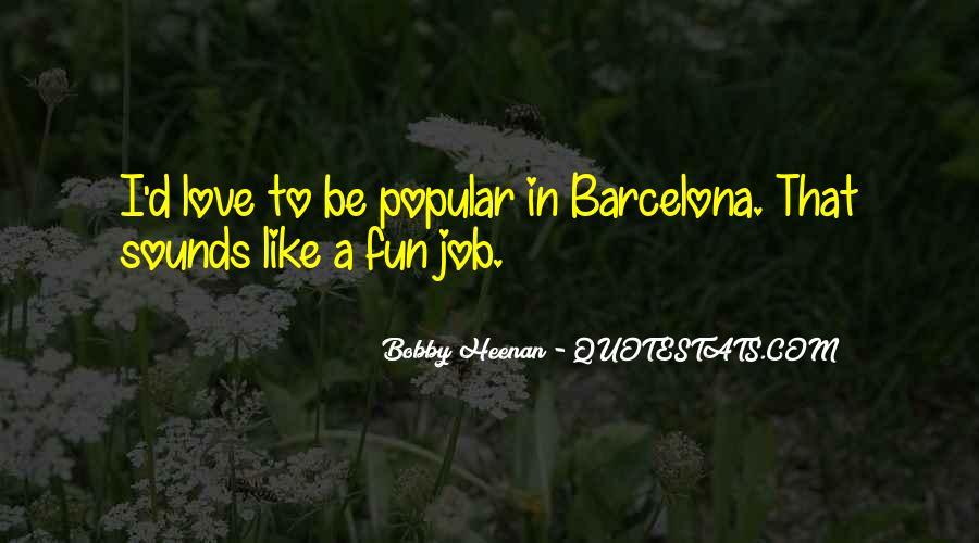 Barcelona's Quotes #1021832