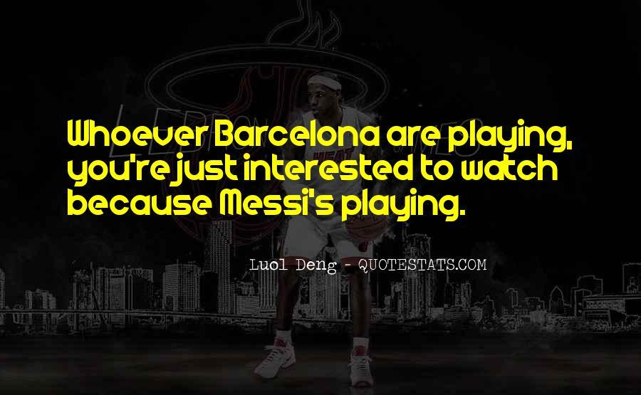 Barcelona's Quotes #1302012