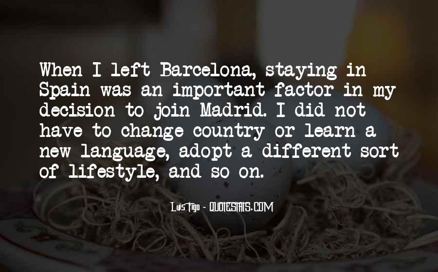 Barcelona's Quotes #803433