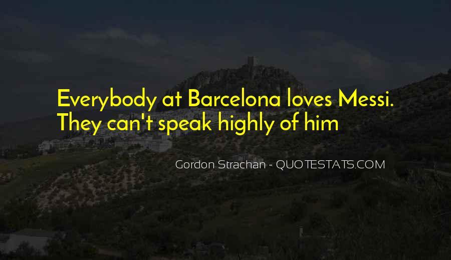 Barcelona's Quotes #880242