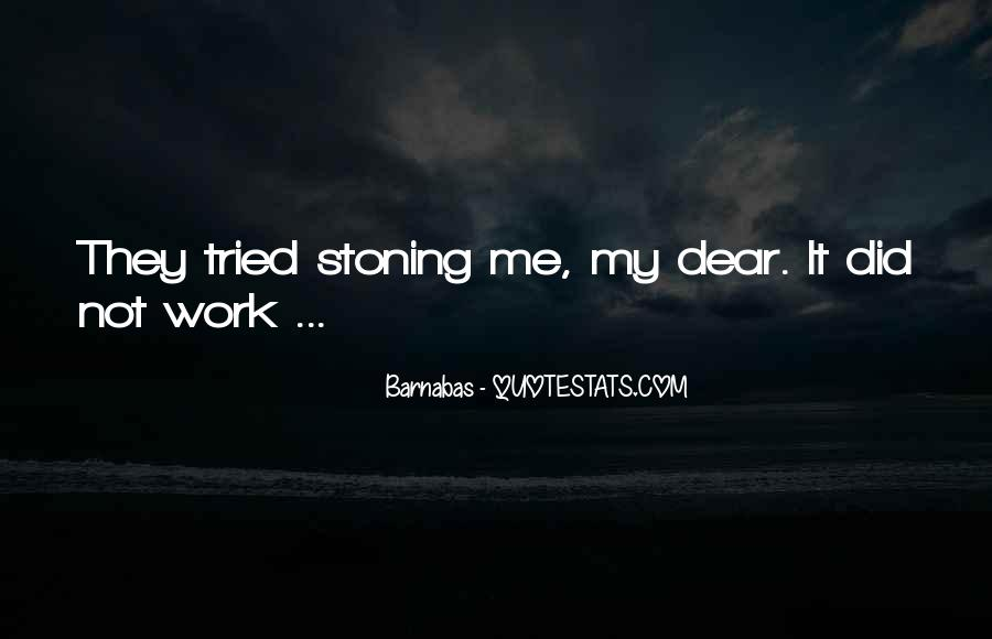 Barnabas's Quotes #1258518