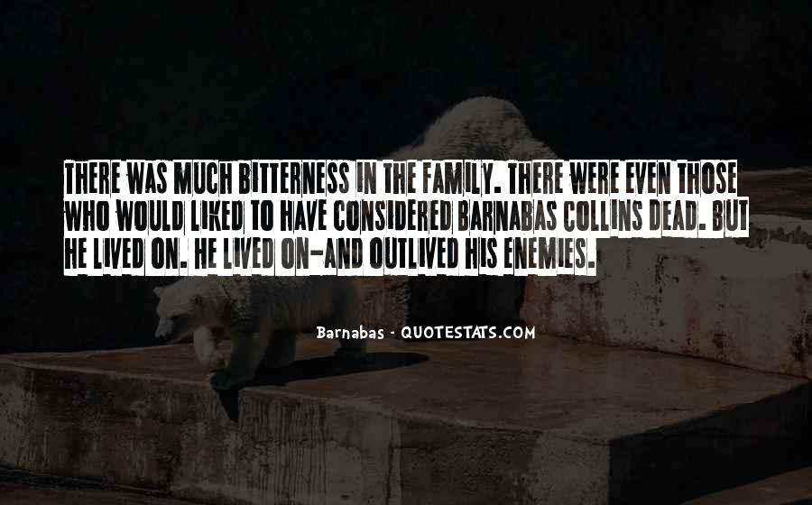 Barnabas's Quotes #136906