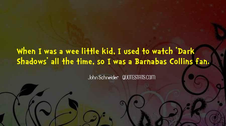 Barnabas's Quotes #1662161
