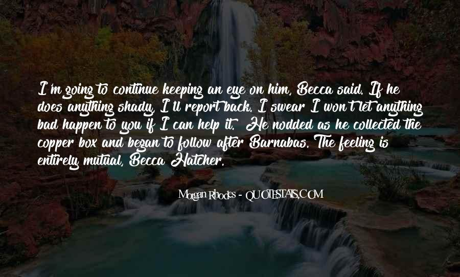 Barnabas's Quotes #1839238
