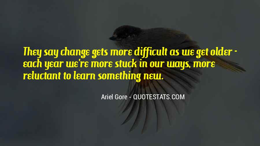 Quotes About Change In The New Year #1593656