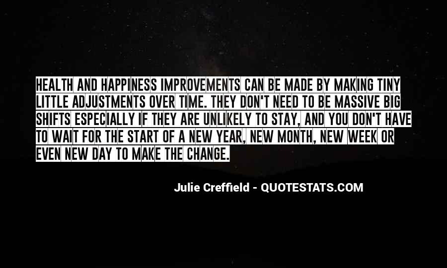Quotes About Change In The New Year #1755849