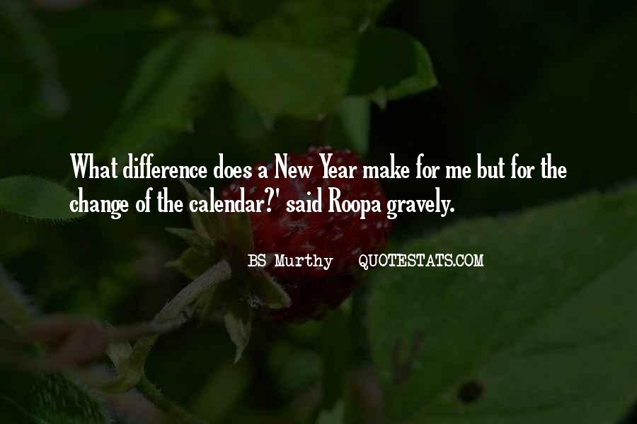 Quotes About Change In The New Year #1785869