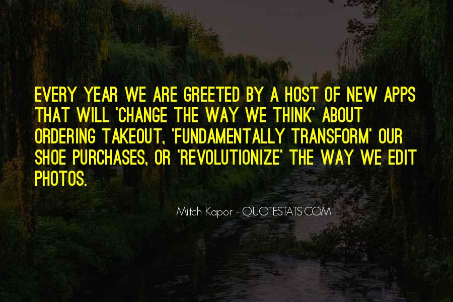 Quotes About Change In The New Year #250262