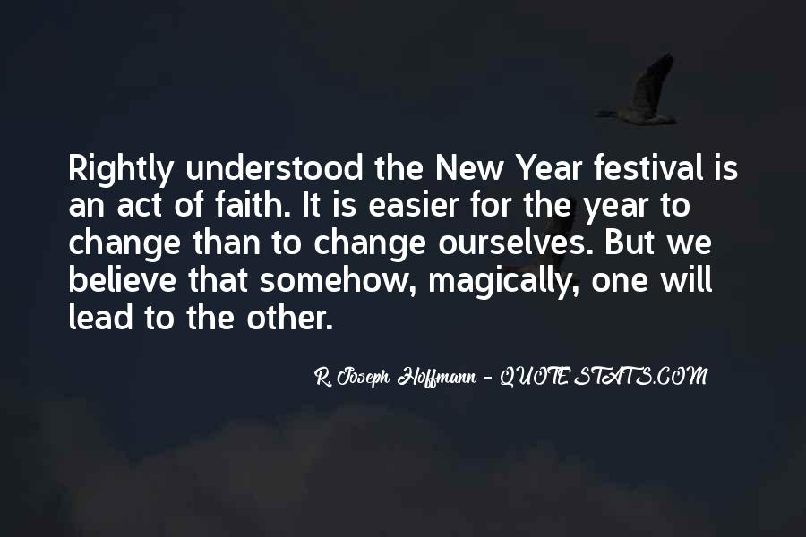 Quotes About Change In The New Year #28441