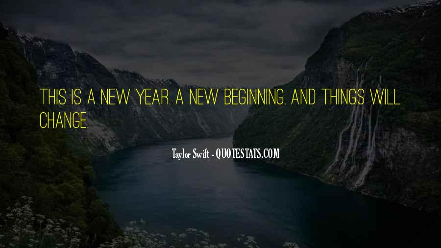 Quotes About Change In The New Year #358070
