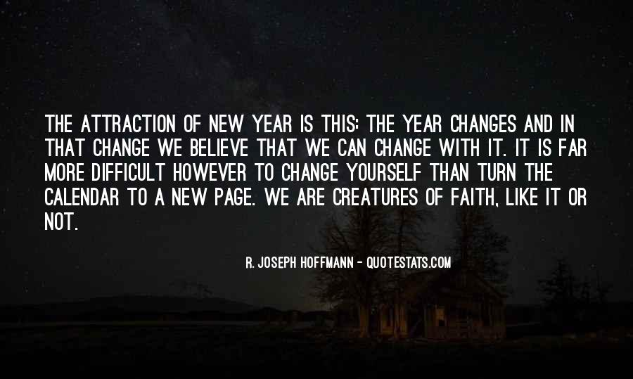 Quotes About Change In The New Year #727959
