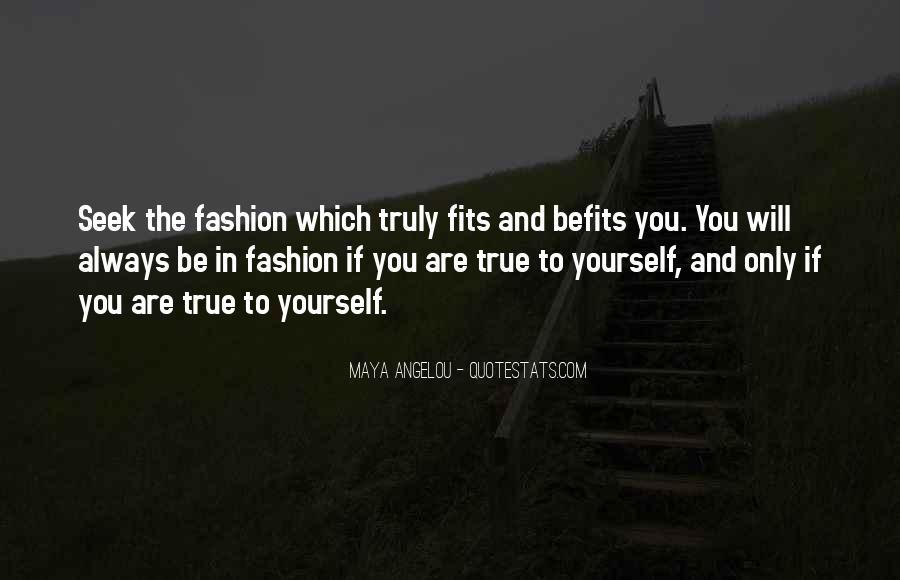 Befits Quotes #601397