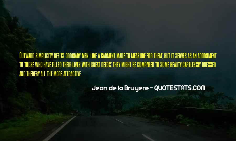 Befits Quotes #700124