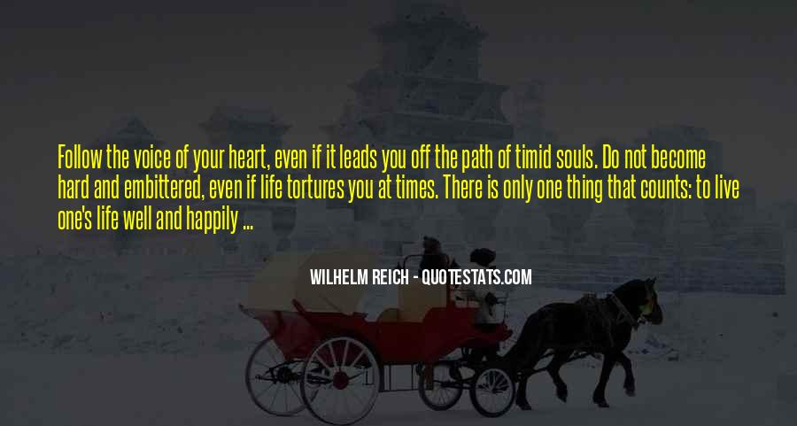 Quotes About Life's Path #130260