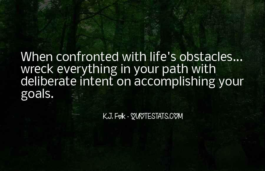 Quotes About Life's Path #36619