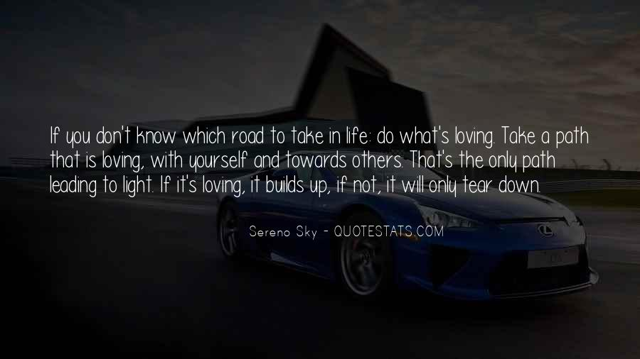 Quotes About Life's Path #370759
