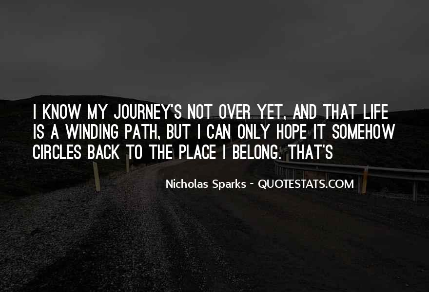 Quotes About Life's Path #564469