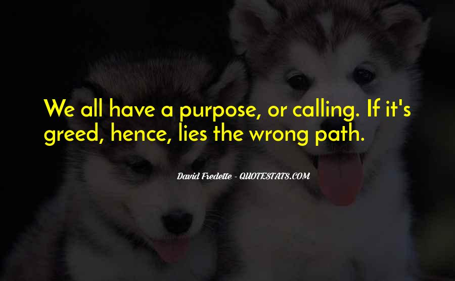 Quotes About Life's Path #634722