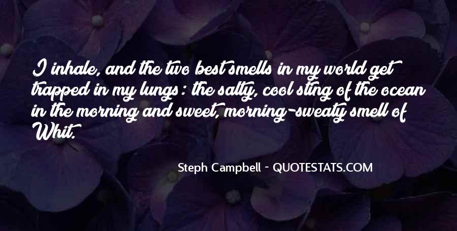 Quotes About The Smell Of The Ocean #1772944