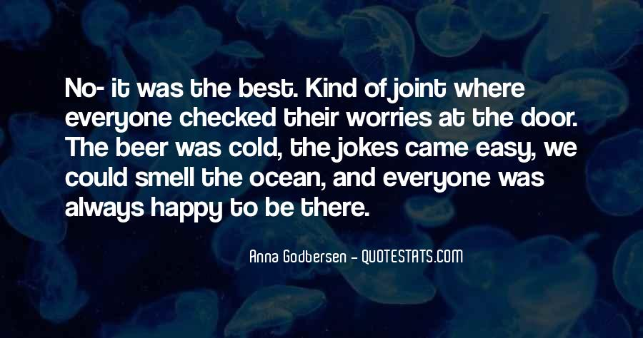 Quotes About The Smell Of The Ocean #194520