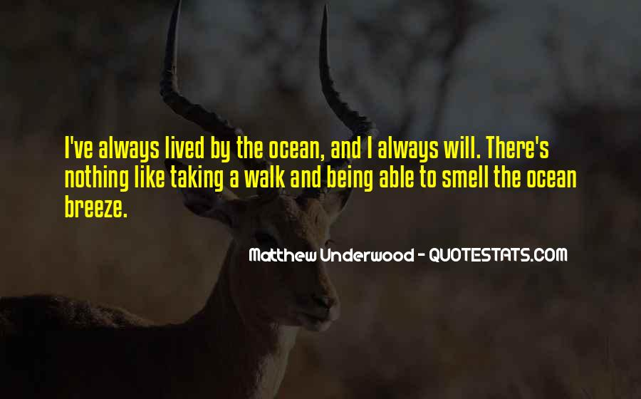 Quotes About The Smell Of The Ocean #796235