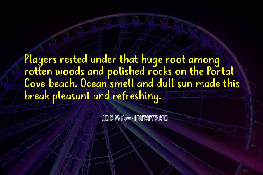Quotes About The Smell Of The Ocean #879821