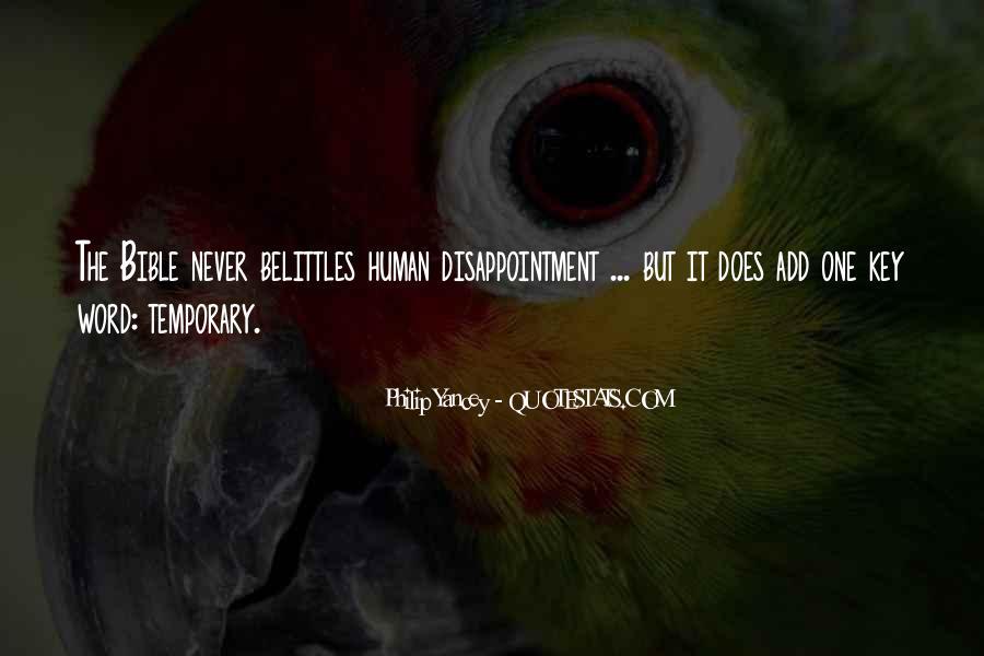 Belittles Quotes #1051250