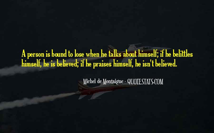 Belittles Quotes #1212575
