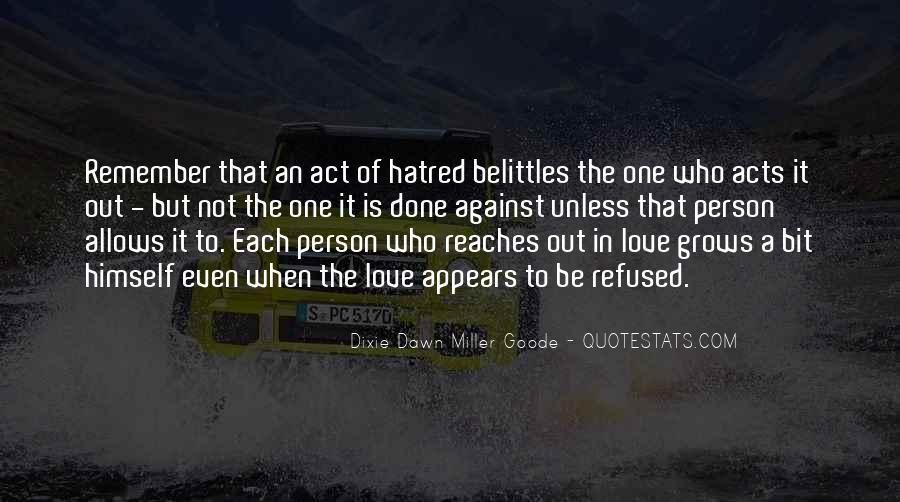 Belittles Quotes #414380