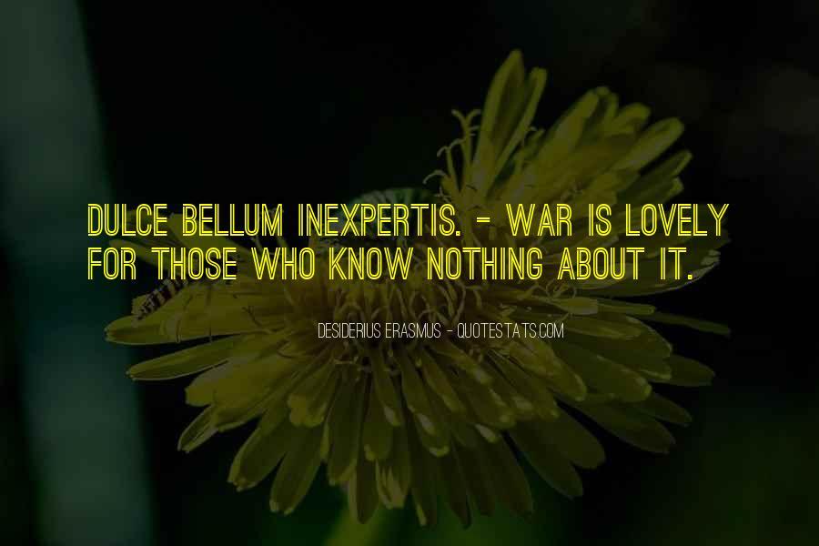 Bellum Quotes #1182336