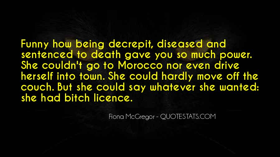 Quotes About Being Sentenced To Death #1823070