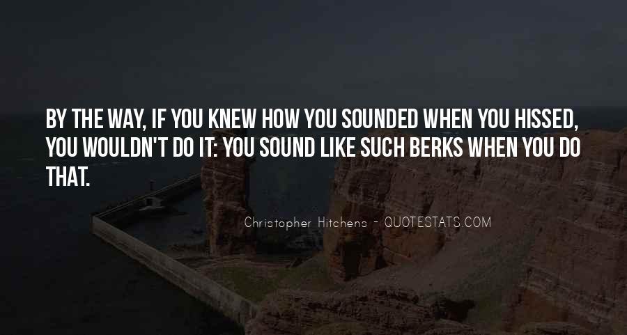 Berks Quotes #1683844