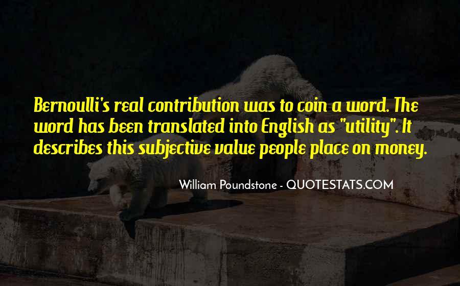 Bernoulli's Quotes #1120686