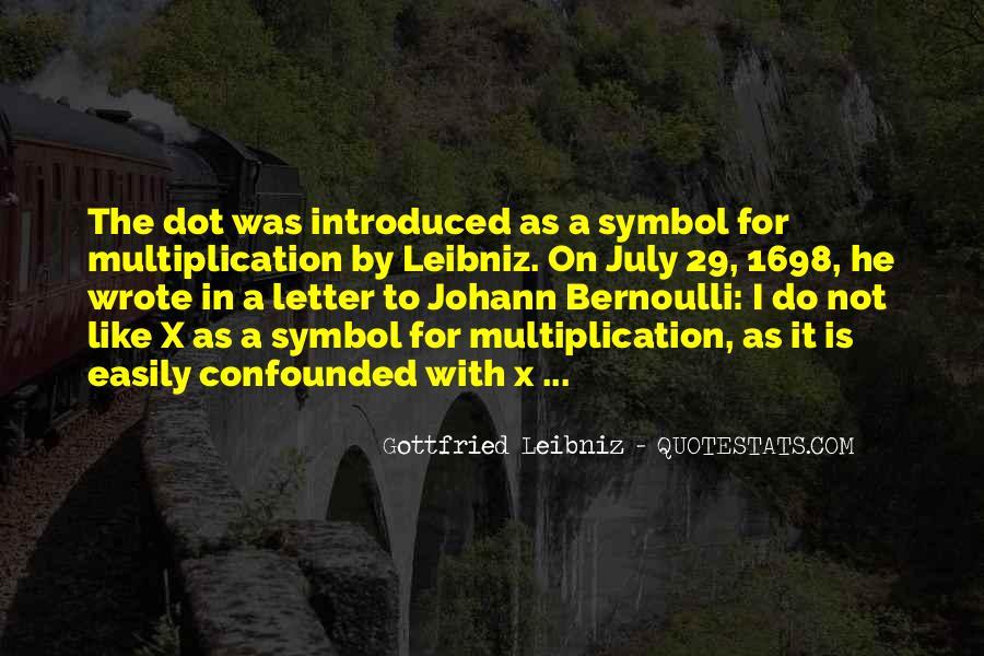 Bernoulli's Quotes #157934