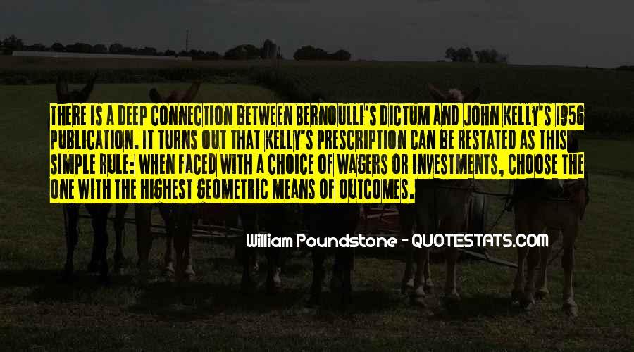 Bernoulli's Quotes #1762372