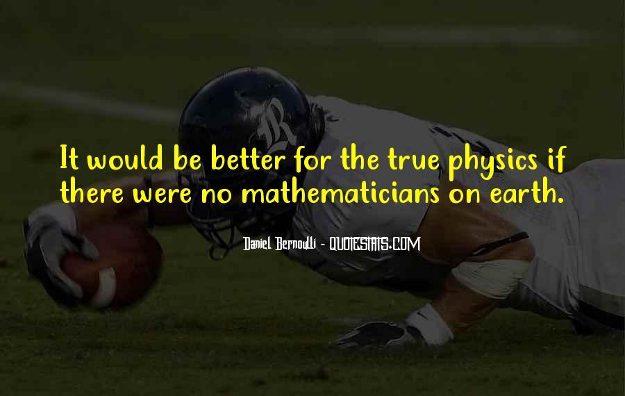 Bernoulli's Quotes #731716