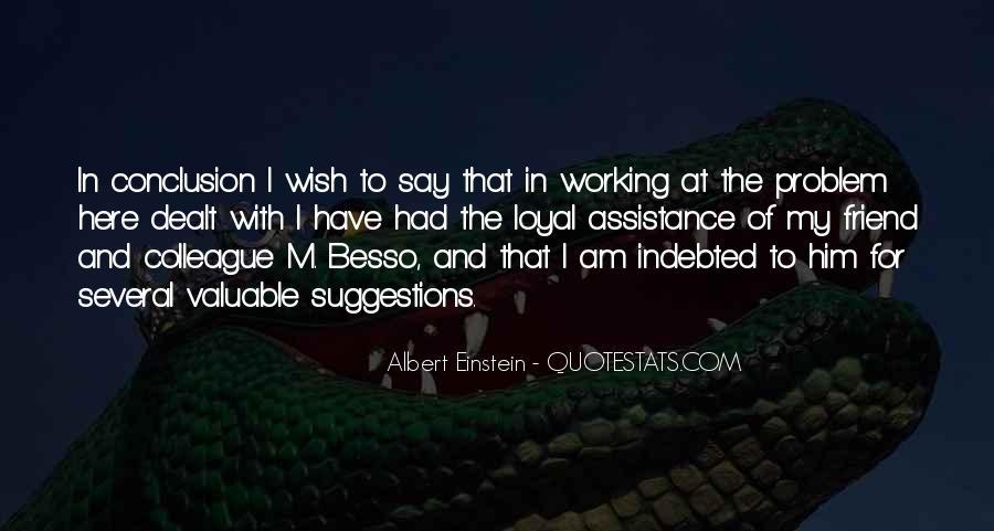 Besso Quotes #246779