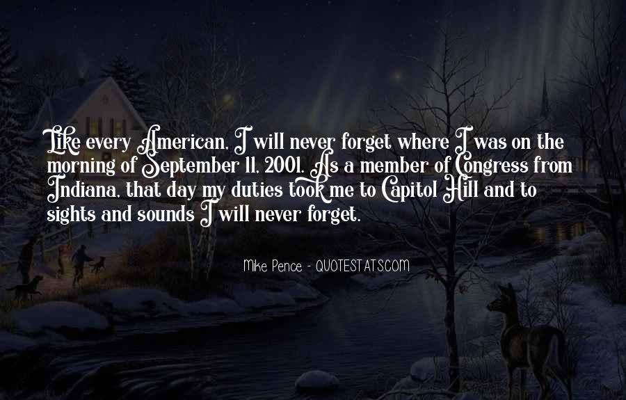 Quotes About 9/11 Never Forget #797682