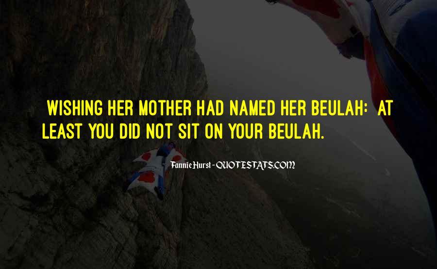 Beulah Quotes #1745310