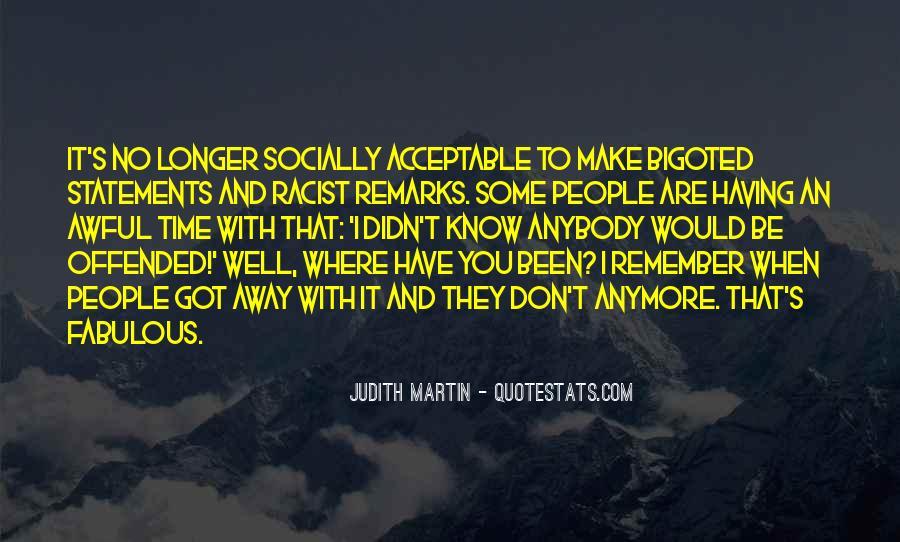 Bigoted Quotes #1160965