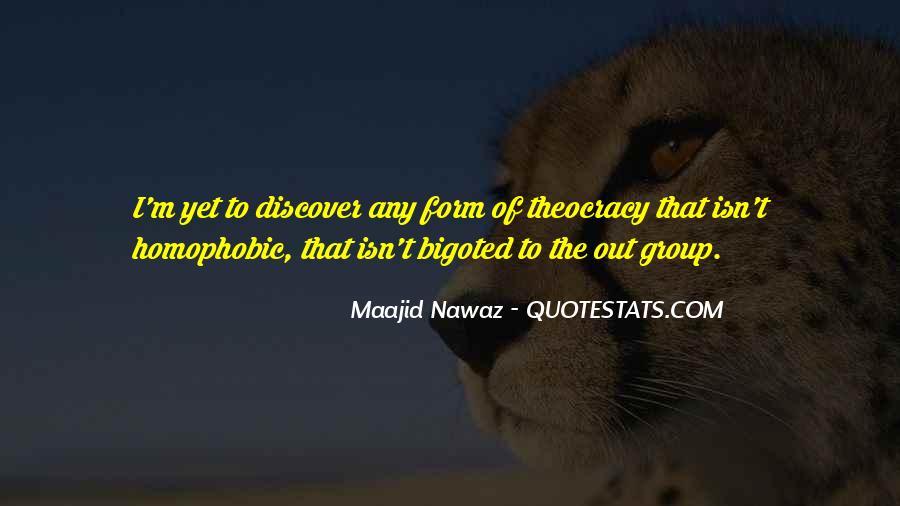 Bigoted Quotes #1210135