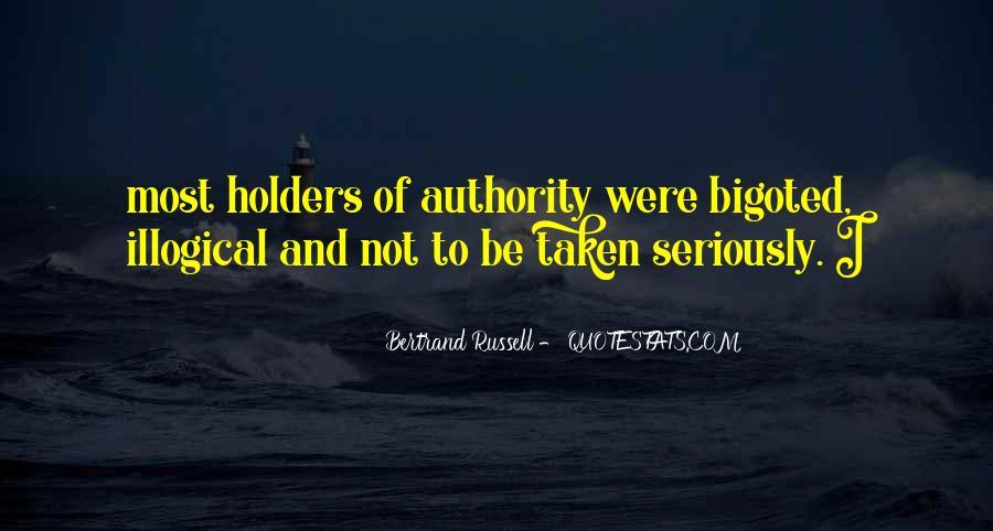 Bigoted Quotes #731751