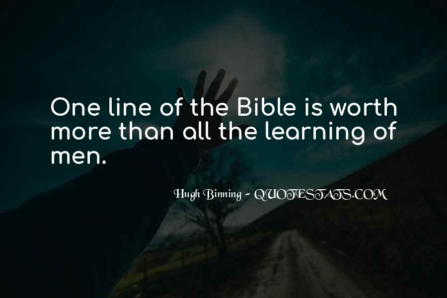 Binning Quotes #895065