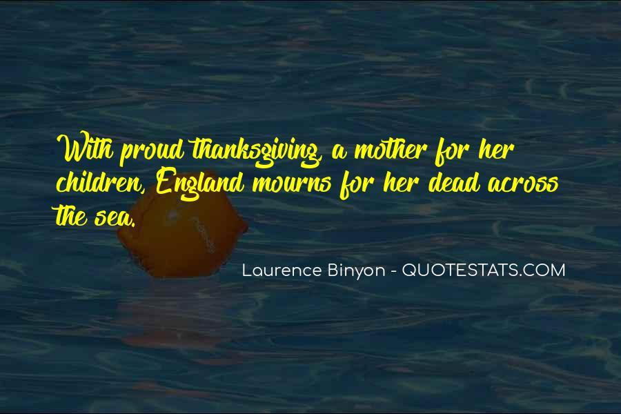 Binyon Quotes #1264173