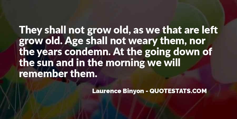Binyon Quotes #1815174