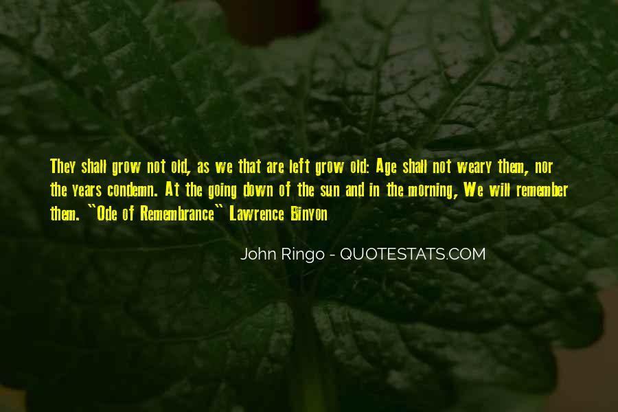 Binyon Quotes #605225