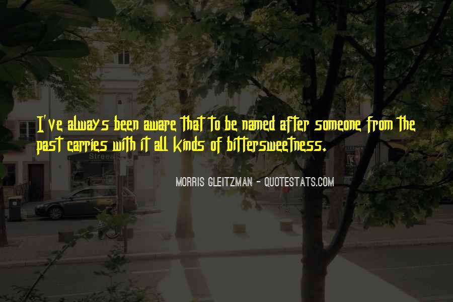 Bittersweetness Quotes #1453147