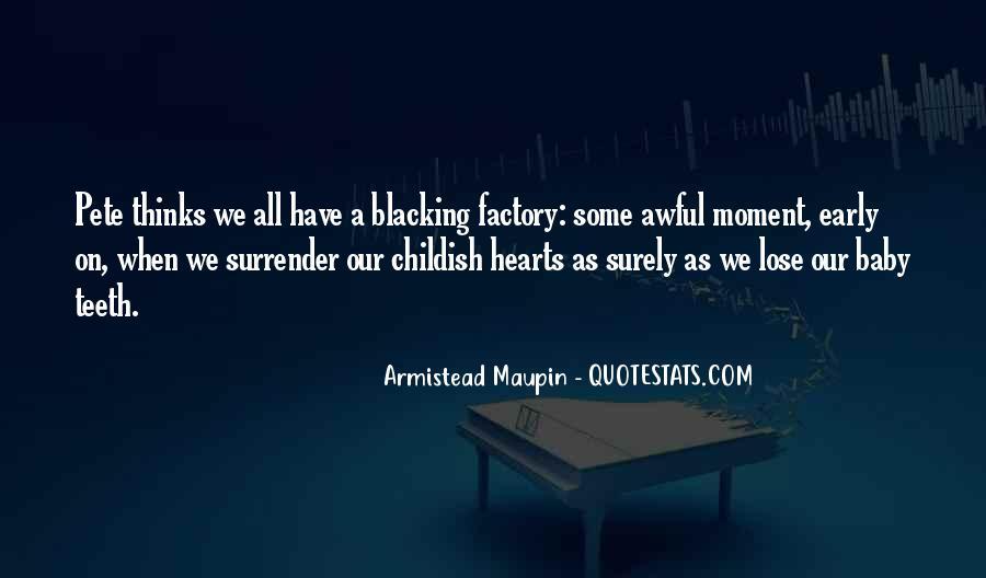 Blacking Quotes #1288726