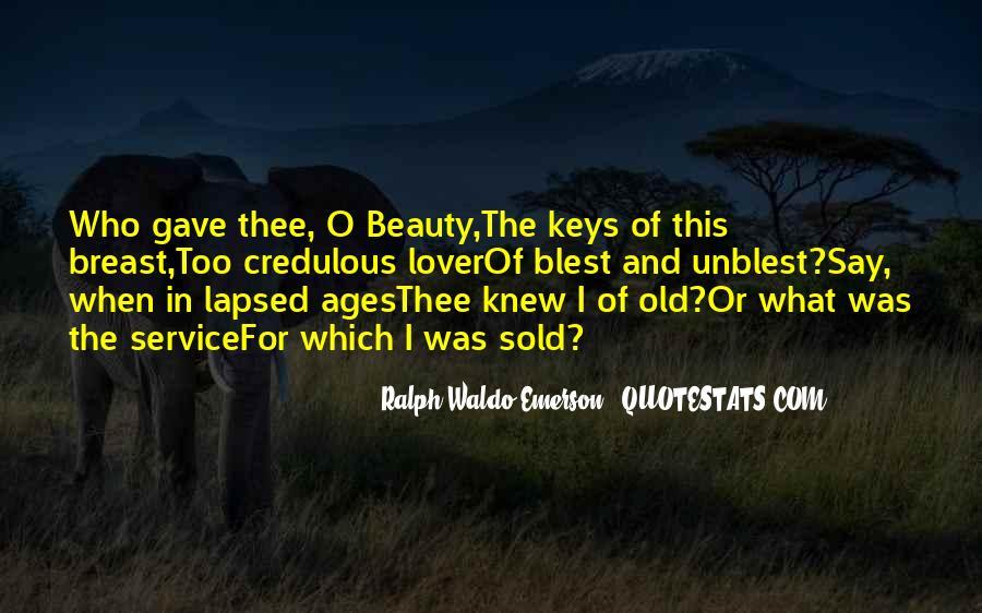 Blest Quotes #277820