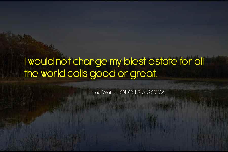 Blest Quotes #53194
